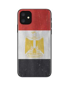 Egypt Flag Distressed iPhone 11 Skin