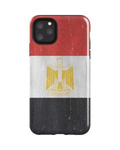 Egyptian Flag Distressed iPhone 11 Pro Max Impact Case