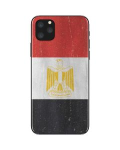 Egyptian Flag Distressed iPhone 11 Pro Max Skin
