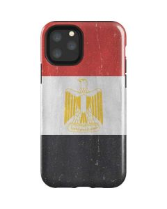 Egyptian Flag Distressed iPhone 11 Pro Impact Case