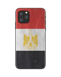 Egyptian Flag Distressed iPhone 11 Pro Skin