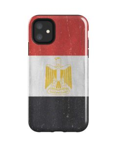 Egyptian Flag Distressed iPhone 11 Impact Case