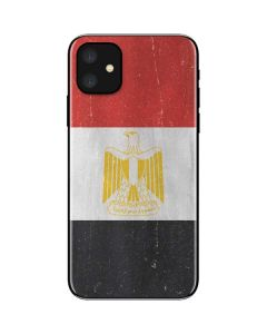 Egyptian Flag Distressed iPhone 11 Skin