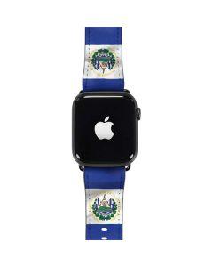 El Salvador Flag Apple Watch Case