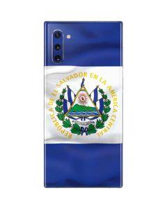El Salvador Flag Galaxy Note 10 Skin