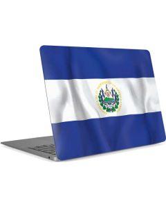 El Salvador Flag Apple MacBook Air Skin