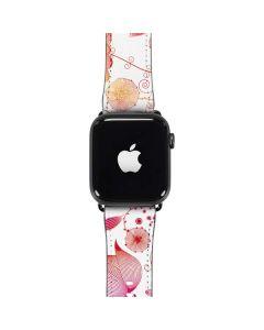 Elegant Flowers Apple Watch Band 42-44mm