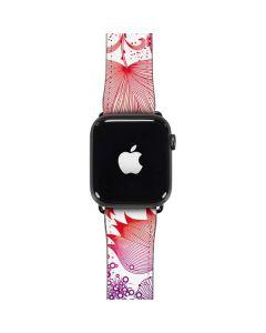 Elegant Flowers Apple Watch Case