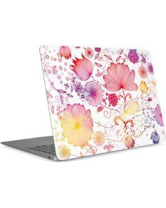 Elegant Flowers Apple MacBook Air Skin