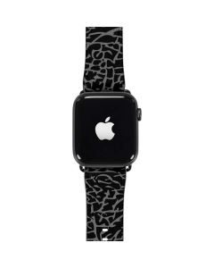 Elephant Print Black Apple Watch Band 42-44mm