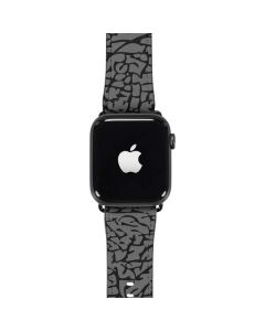 Elephant Print Grey Apple Watch Band 42-44mm