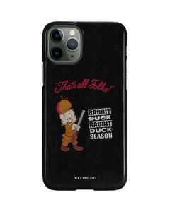 Elmer Fudd Thats All Folks iPhone 11 Pro Lite Case