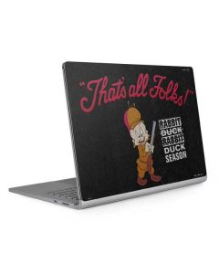 Elmer Fudd Thats All Folks Surface Book 2 15in Skin