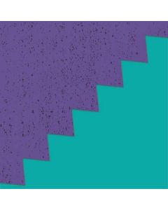 Purple Turquoise Zig Zag HP Notebook Skin