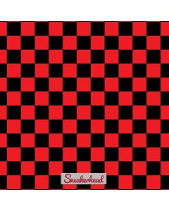 Sneakerhead Red Checkered Samsung Galaxy Tab Skin
