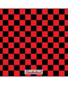 Sneakerhead Red Checkered Generic Laptop Skin