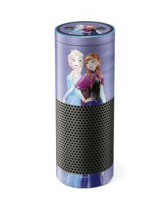 Elsa and Anna Sisters Amazon Echo Skin