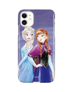 Elsa and Anna Sisters iPhone 11 Lite Case