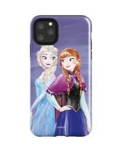 Elsa and Anna Sisters iPhone 11 Pro Max Impact Case