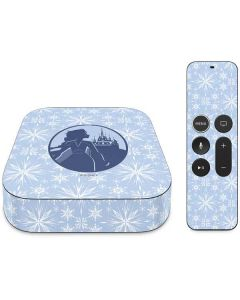 Elsa Silhouette Apple TV Skin