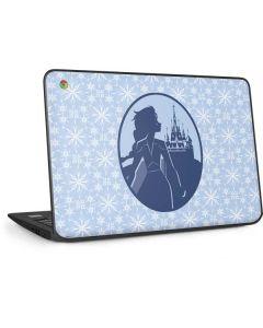 Elsa Silhouette HP Chromebook Skin