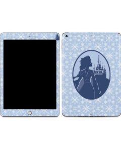 Elsa Silhouette Apple iPad Skin