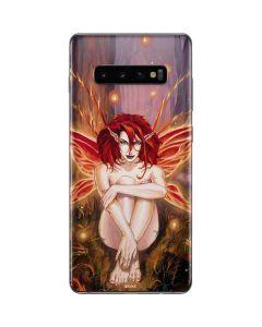 Ember Fire Fairy Galaxy S10 Plus Skin