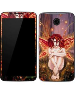 Ember Fire Fairy Google Nexus 6 Skin
