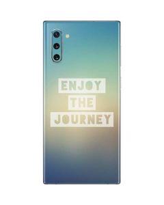 Enjoy The Journey Galaxy Note 10 Skin