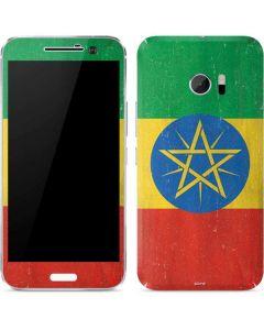 Ethiopia Flag Distressed 10 Skin
