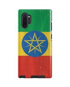 Ethiopia Flag Distressed Galaxy Note 10 Plus Pro Case