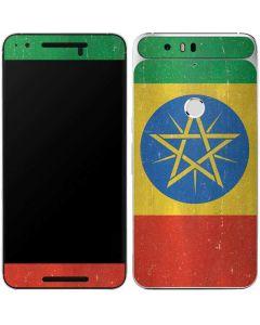 Ethiopia Flag Distressed Google Nexus 6P Skin