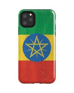 Ethiopia Flag Distressed iPhone 11 Pro Max Impact Case
