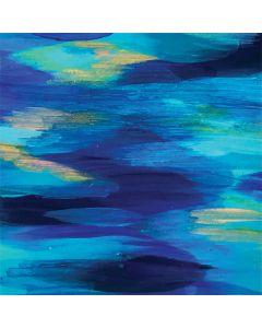 Ocean Blue Brush Stroke Google Pixel Slate Skin
