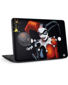 Evil Harley Quinn HP Chromebook Skin