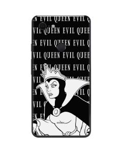 Evil Queen Black and White Google Pixel 3 XL Skin