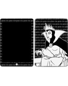 Evil Queen Black and White Apple iPad Skin