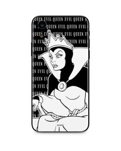 Evil Queen Black and White iPhone XR Skin