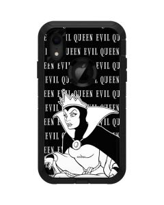 Evil Queen Black and White Otterbox Defender iPhone Skin