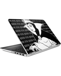 Evil Queen Black and White HP Pavilion Skin