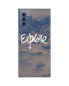 Explore Galaxy Note 10 Skin