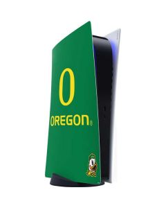 University of Oregon PS5 Digital Edition Console Skin
