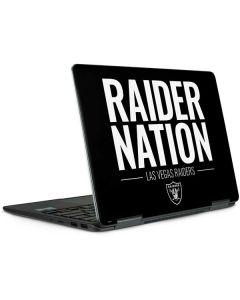 Las Vegas Raiders Team Motto Notebook 9 Pro 13in (2017) Skin