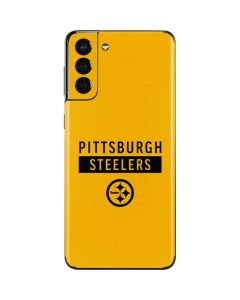 Pittsburgh Steelers Yellow Performance Series Galaxy S21 Plus 5G Skin