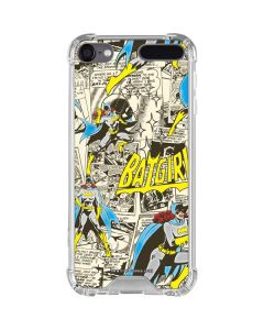 Batgirl All Over Print iPod Touch (5th-6th-7th Gen) Clear Case