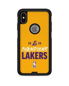 2020 Champions Lakers Otterbox Commuter iPhone Skin