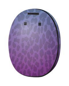 Cheetah Print Purple and Blue MED-EL Rondo 3 Skin