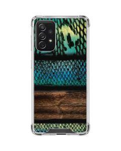 Animal Print Fashion Galaxy A72 5G Clear Case