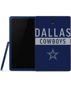 Dallas Cowboys Blue Performance Series Samsung Galaxy Tab Skin
