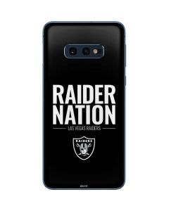 Las Vegas Raiders Team Motto Galaxy S10e Skin